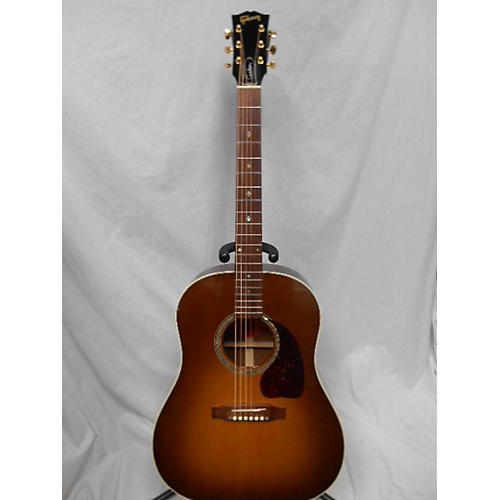 used gibson 2007 j45 custom acoustic guitar guitar center. Black Bedroom Furniture Sets. Home Design Ideas