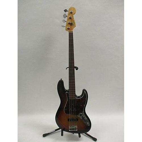 Jazz Bass Sunburst : used fender 2008 american standard jazz bass fretless electric bass guitar 2 color sunburst ~ Vivirlamusica.com Haus und Dekorationen
