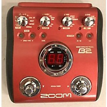 Zoom 2009 B2 Bass Effect Pedal