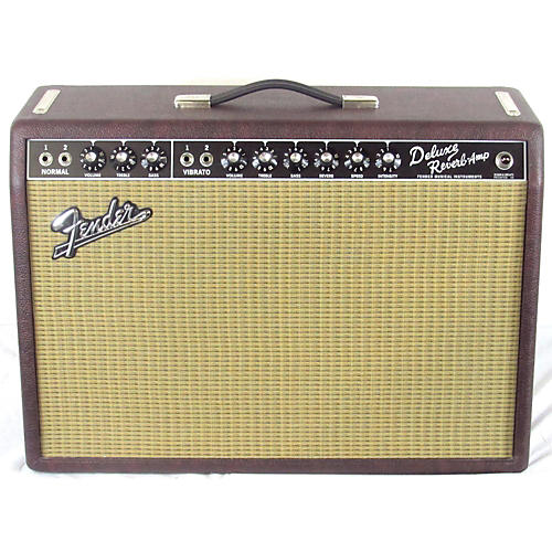 Fender 2009 Limited Edition Deluxe Reverb 22W 1x12 Tube Guitar Combo Amp