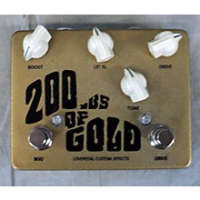 Lovepedal 200lbs Of Gold Effect Pedal