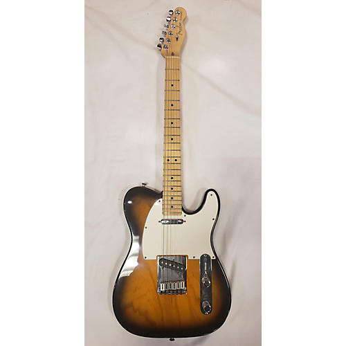 used fender 2010 american standard telecaster solid body electric guitar 2 tone sunburst. Black Bedroom Furniture Sets. Home Design Ideas
