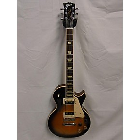 used gibson 2010 les paul standard traditional pro solid body electric guitar vintage sunburst. Black Bedroom Furniture Sets. Home Design Ideas