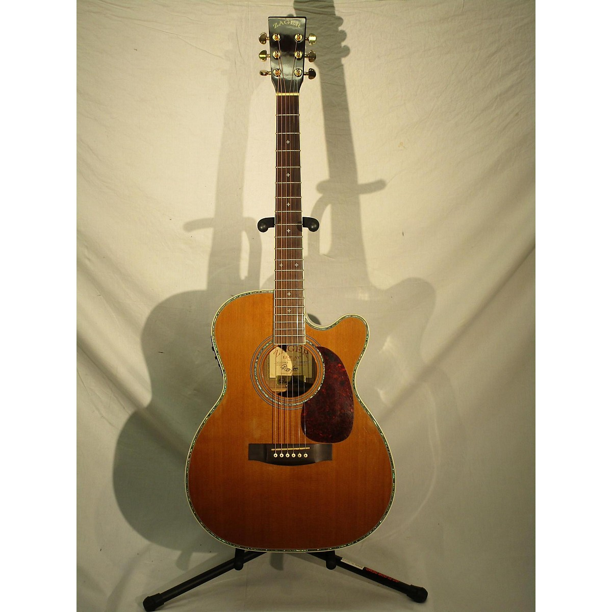 Zager 2010 ZAD 800MCE Acoustic Electric Guitar
