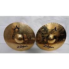 Zildjian 2010s 14in A Custom Mastersound Hi Hat Pair Cymbal