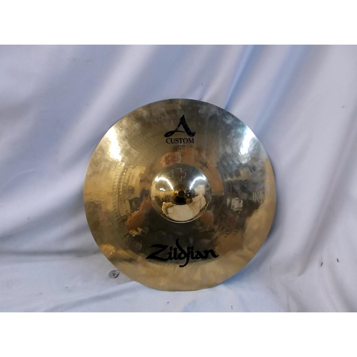 Zildjian 2010s 15in A Custom Crash Cymbal