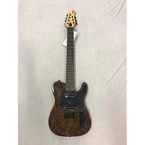 Michael Kelly 2010s 508 Burl 8 String Solid Body Electric Guitar