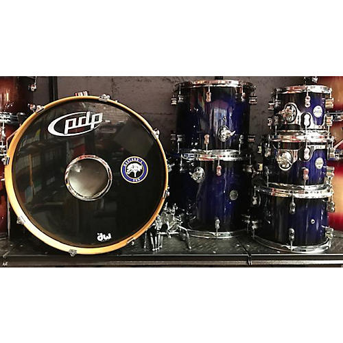Used Pdp By Dw 2010s 6 Piece Concept Maple Blue Onyx Drum