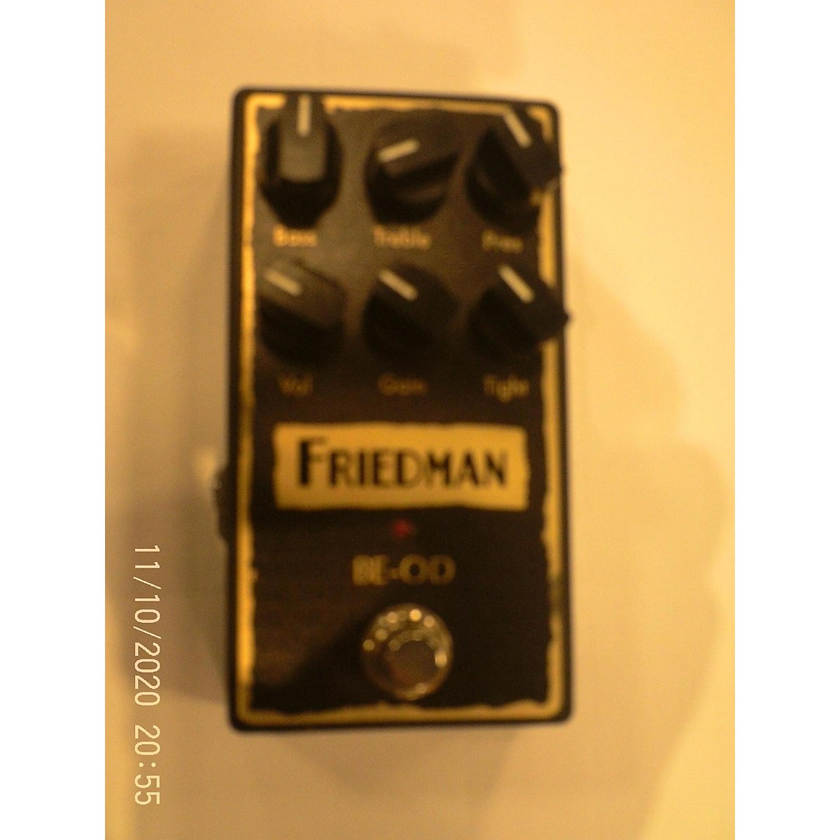 Friedman 2010s BE-OD Effect Pedal
