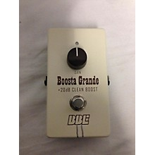 BBE 2010s BG20 Boosta Grande Effect Pedal
