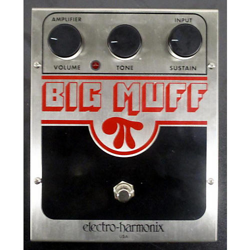 Electro-Harmonix 2010s Big Muff Distortion Effect Pedal