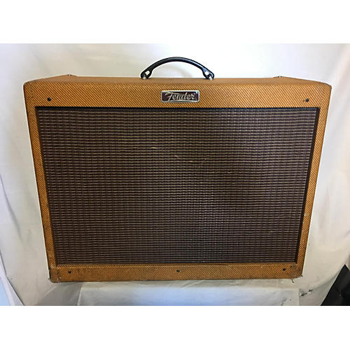 Fender 2010s Blues Deluxe Reissue 40W 1x12 Tweed Tube Guitar Combo Amp