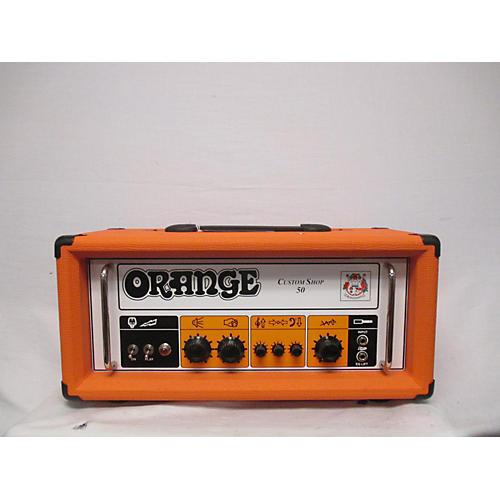 Orange Amplifiers 2010s CS50 Custom Shop 50W Tube Guitar Amp Head