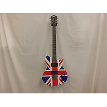 Washburn 2010s Def Lepperd Union Jack Solid Body Electric Guitar