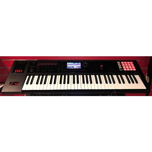used roland 2010s fa06 keyboard workstation guitar center. Black Bedroom Furniture Sets. Home Design Ideas