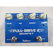 Fulltone 2010s FD2MOS Fulldrive 2 Mosfet Overdrive Effect Pedal