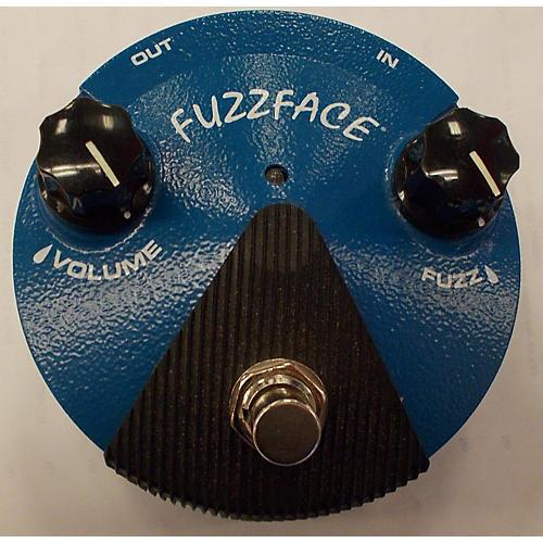 Dunlop 2010s FFM1 Silicon Fuzz Face Mini Blue Effect Pedal