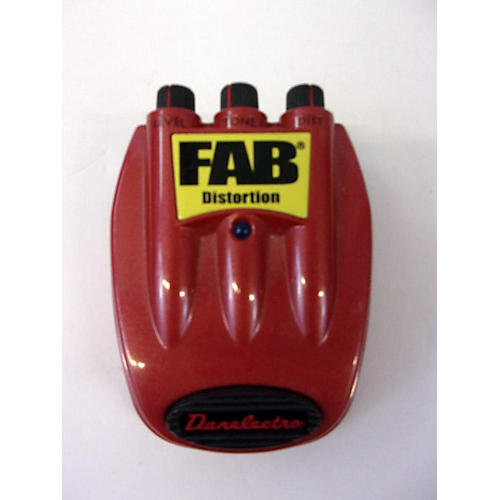 Danelectro 2010s Fab Distortion Effect Pedal