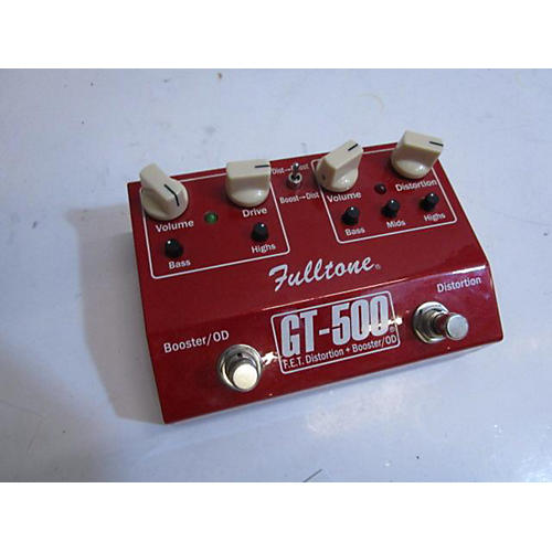 Fulltone 2010s GT500 Distortion Boost Effect Pedal