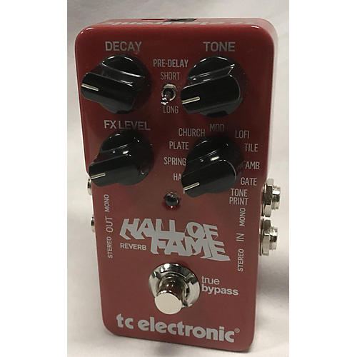 TC Electronic 2010s Hall Of Fame Reverb Effect Pedal