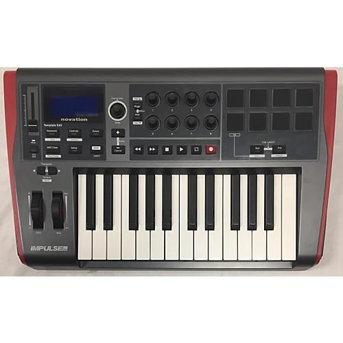 Novation 2010s Impulse 25 Key MIDI Controller