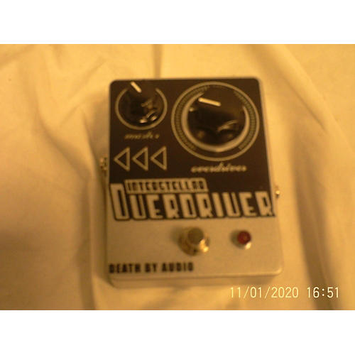 Death By Audio 2010s Interstellar Overdriver Deluxe Distortion Effect Pedal