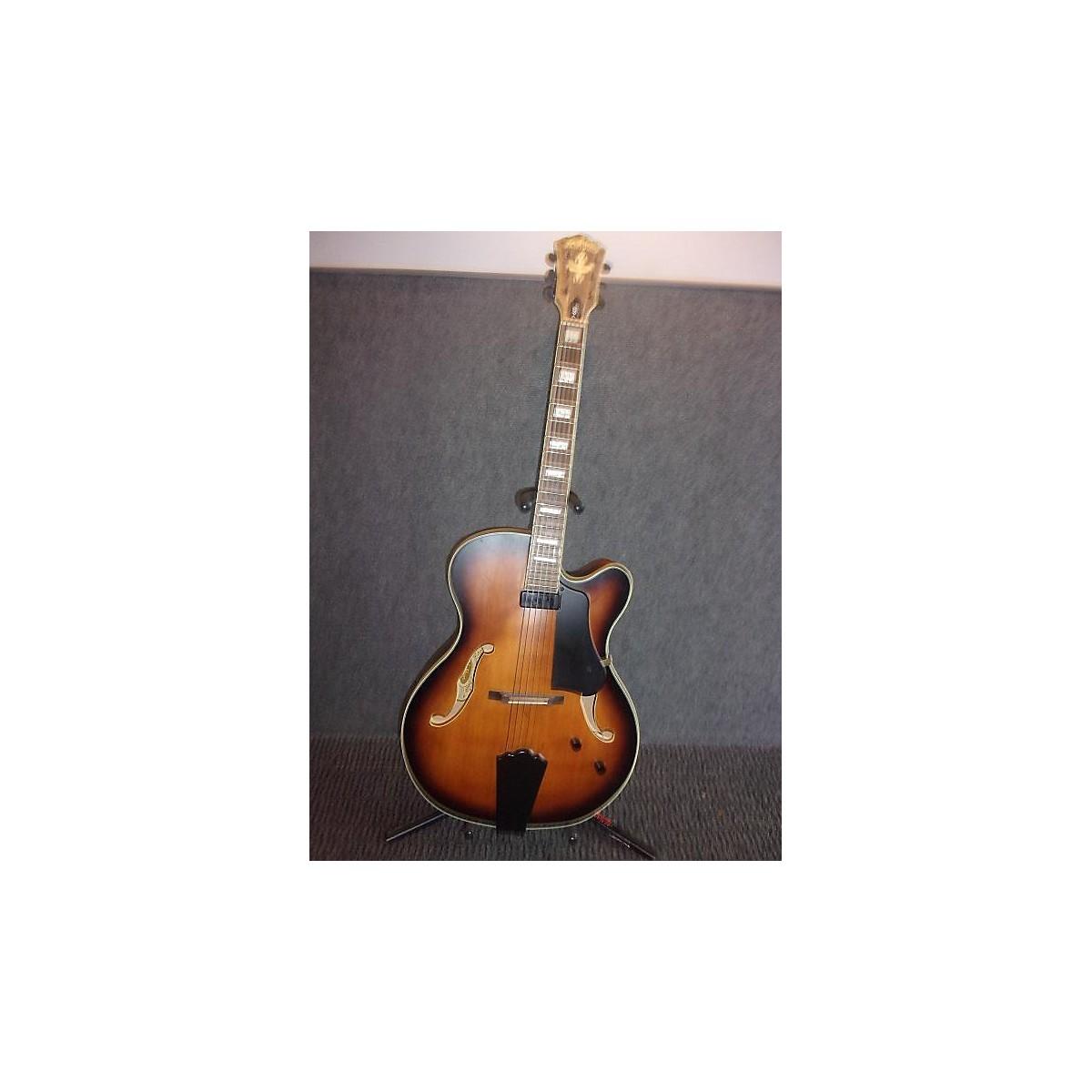 Washburn 2010s J600 Jazz Venetian Hollow Body Electric Guitar