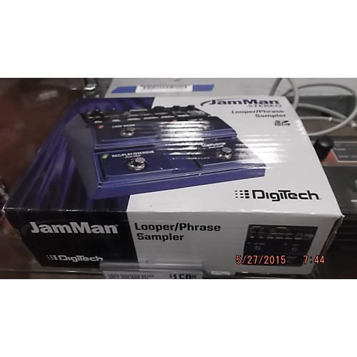 Digitech 2010s JML2 Jam Man Stereo Phrase Baltic Blue Pedal