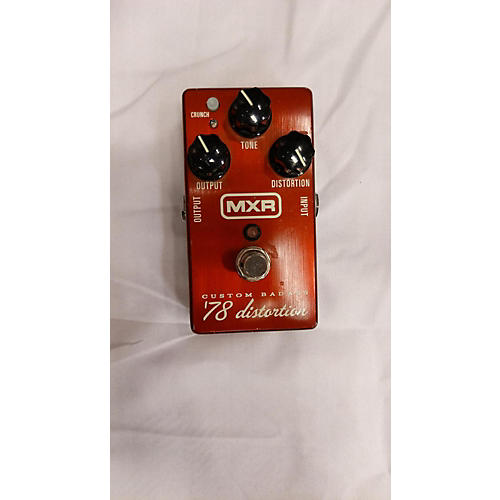 MXR 2010s M78 1978 Custom Badass Distortion Effect Pedal