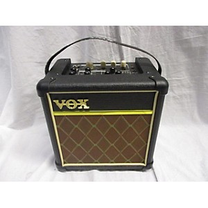 Click here to buy Pre-owned Vox 2010s MINI5-RM Battery Powered Amp by Vox.