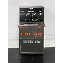 Boss 2010s MT2 Metal Zone Distortion Effect Pedal