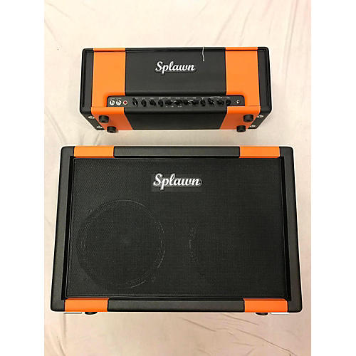 Splawn 2010s Quick Rod Head And 2x12 Cab Guitar Stack