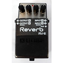 Boss 2010s RV6 Digital Reverb Effect Pedal