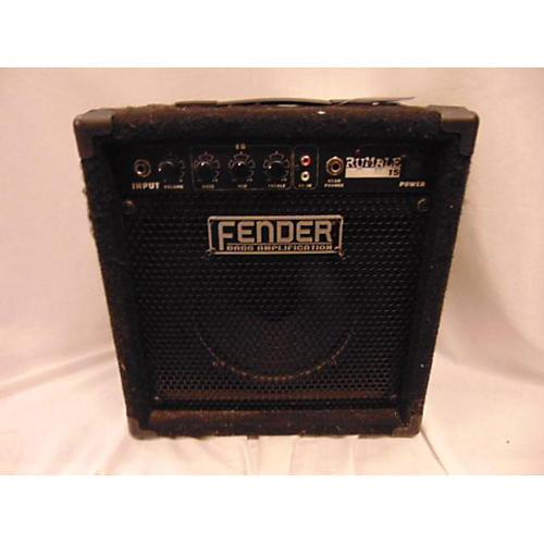 Fender 2010s Rumble 15 15W 1X8 Bass Combo Amp