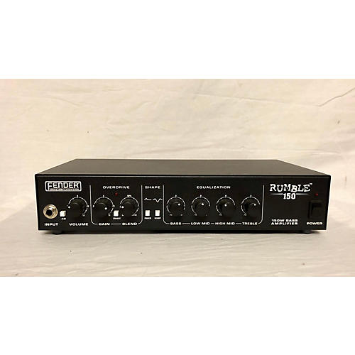 Fender 2010s Rumble 150 150W Bass Amp Head