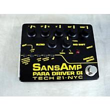 Tech 21 2010s Sansamp PBDR Bass Driver DI Bass Effect Pedal