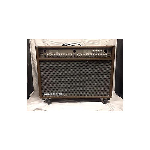 Genz Benz 2010s Shenandoah Stereo Deluxe 200 Acoustic Guitar Combo Amp