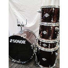 Sonor 2010s Smart Force Red Wine Drum Kit