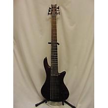 Schecter Guitar Research 2010s Stiletto Custom 6 String Electric Bass Guitar