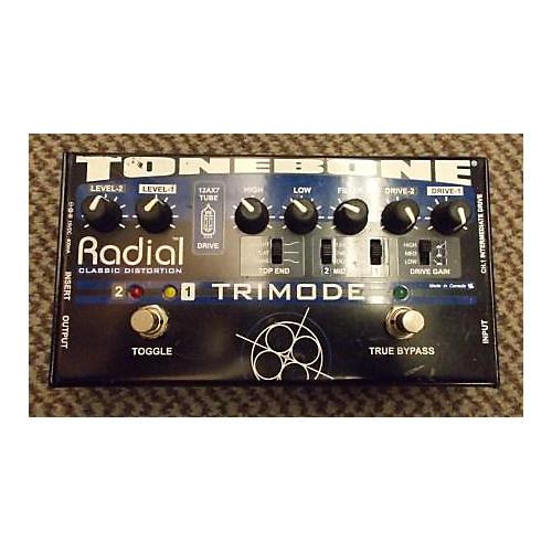 Radial Engineering 2010s Trimod 2Ch Tonebone Classic Distortion Effect Pedal