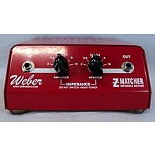 Weber 2010s Z Matcher Power Attenuator