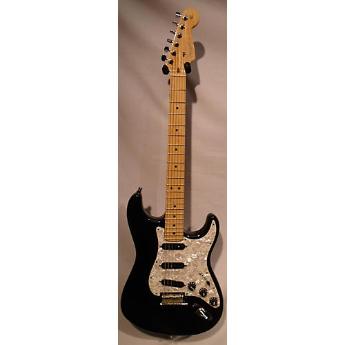 used fender 2011 american standard stratocaster solid body electric guitar black guitar center. Black Bedroom Furniture Sets. Home Design Ideas