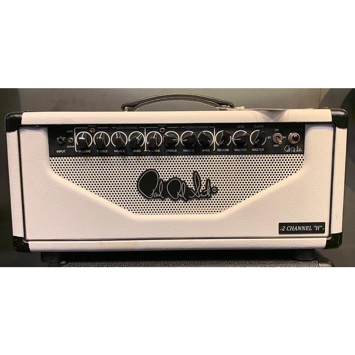 PRS 2012 2 Channel H White Tube Guitar Amp Head