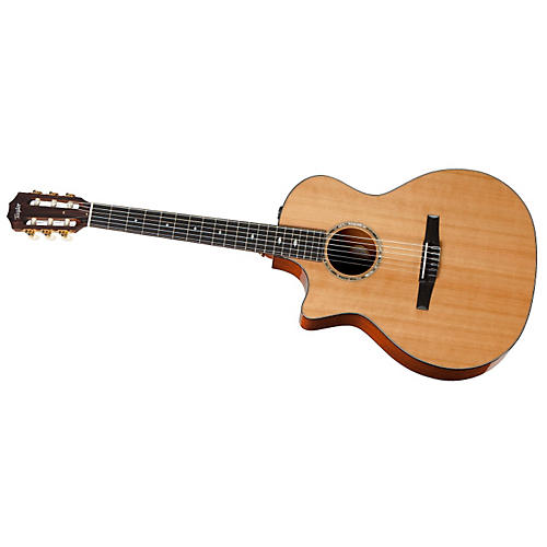 Taylor 2012 514ce-L Mahogany/Cedar Grand Auditorium Left-Handed Acoustic-Electric Guitar
