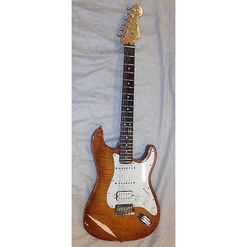 Fender 2012 American Select Stratocaster Exotic Flame Maple Top Solid Body Electric Guitar