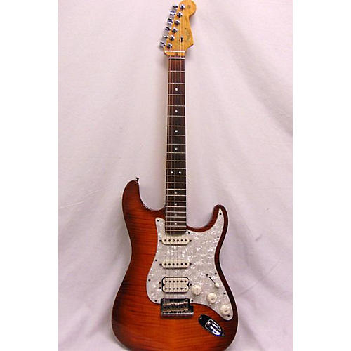 Fender 2012 American Select Stratocaster Solid Body Electric Guitar