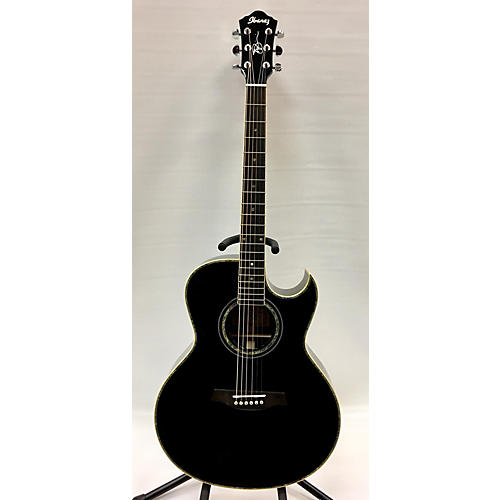 Ibanez 2012 JS10BK Joe Satriani Signature Acoustic Electric Guitar