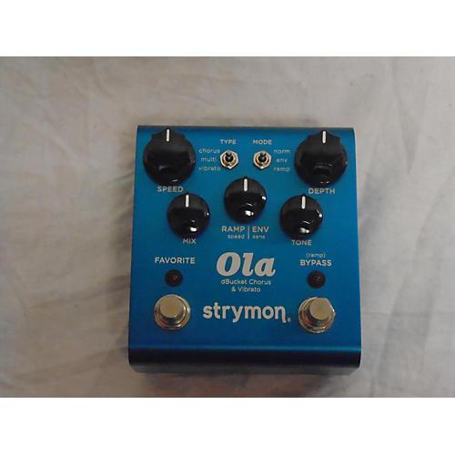 Strymon 2012 Ola Chorus & Vibrato Effect Pedal