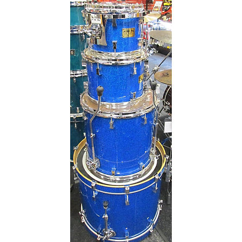 Pork Pie USA 2012 PPK106 4PC BL HALO SPKL Drum Kit