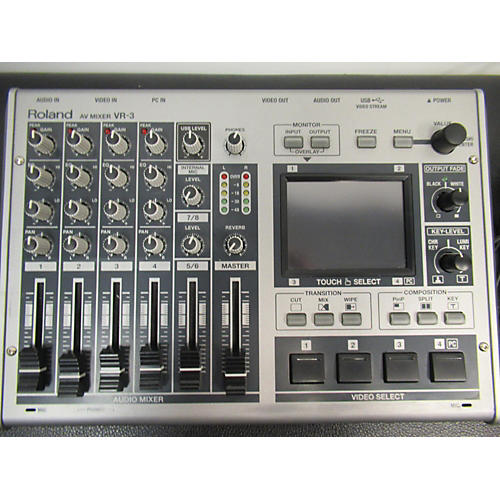 Roland 2012 VR-3 AV Digital Mixer